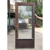 """D18072 - Antique Colonial Revival Exterior Door with Beveled Glass 35-1/2"""" x 84"""""""