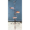 A18110 - Vintage Wrought Iron Three Tier Planter Stand