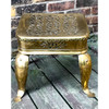 F18092 - Antique English Brass and Iron Footman