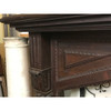 M18021 - Antique Carved Mahogany Mantel