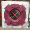G18077 - Antique Stained Glass Oculus Window