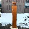 S11058 - Antique Oak Newel Post