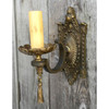 607670 - Antique Neoclassical Candle Arm Wall Sconce