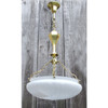 L11242 - Antique Neoclassical Light Fixture with Bowl Shade