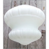 L12300 - Antique Neoclassical Bowl Shade Ceiling Light Fixture
