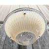 L17060 - Art Moderne Ceiling Light Fixture With Antique Bowl Shade