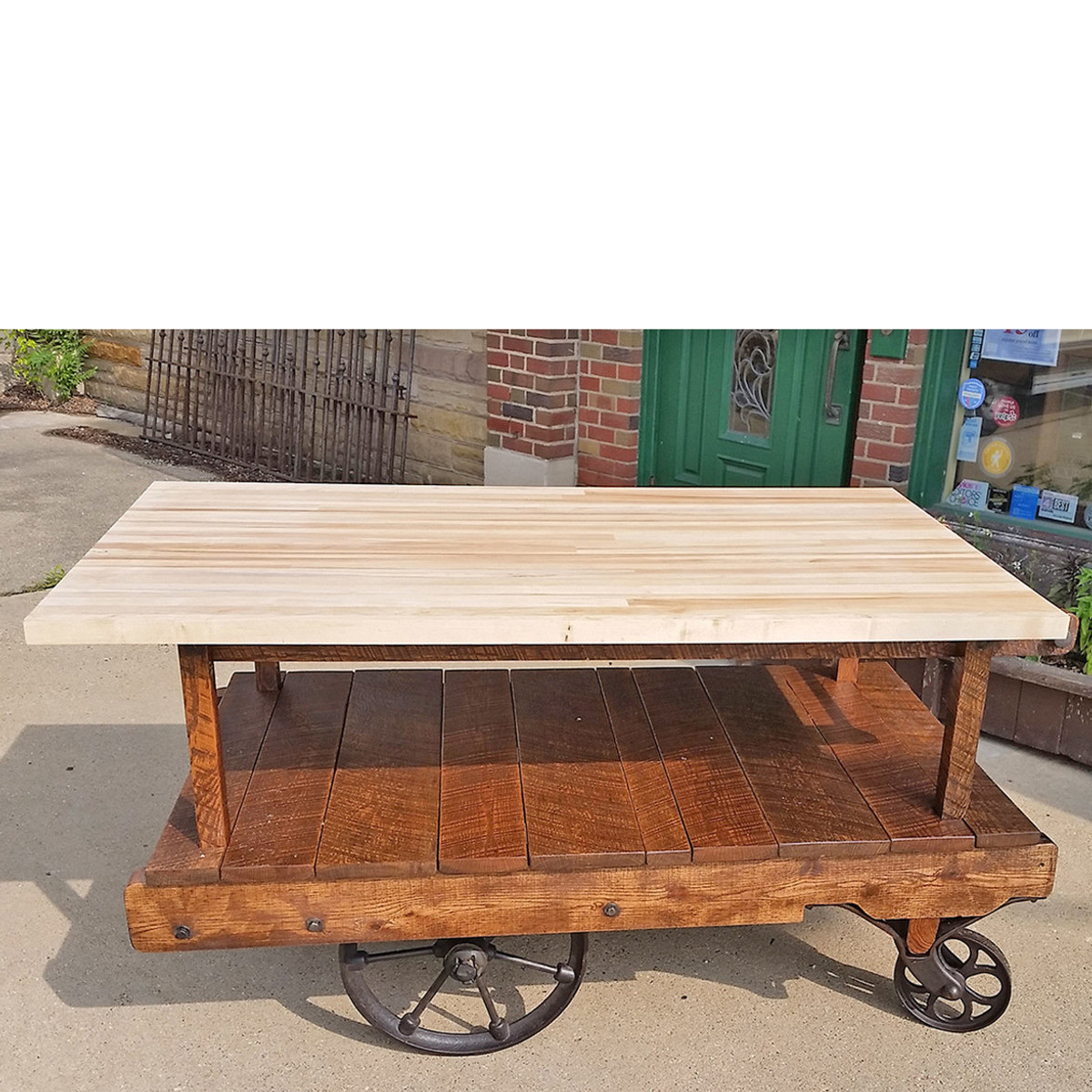 Rustic KITCHEN Island BAR Multi Functional by ...