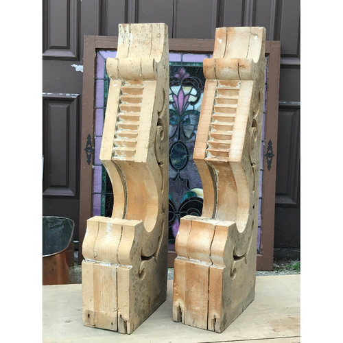 S18010 - Pair or Antique Victorian Corbels