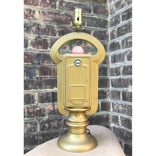 L18078 - Vintage Parking Meter Novelty Table Lamp