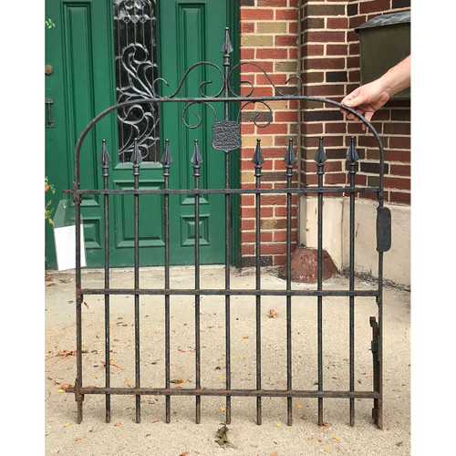 S18062 - Antique Victorian Cast and Wrought Iron Garden Gate