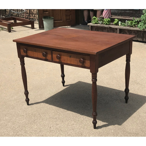 F18064 - Antique Victorian Two Drawer Table