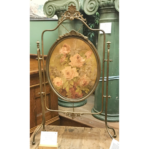 M18017 - Antique Victorian Firescreen