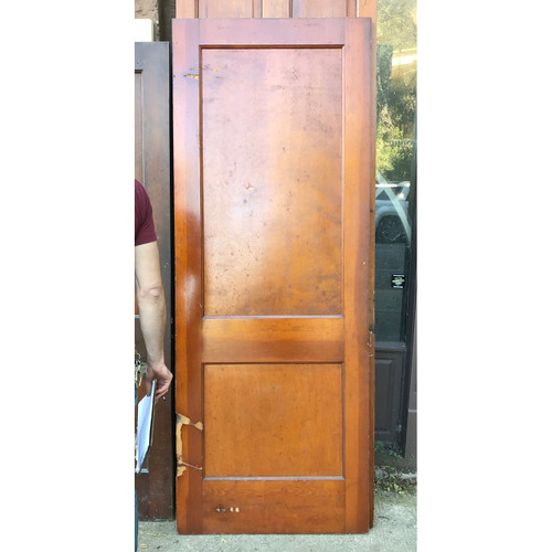 "D18168 -  Antique Revival Period Interior Two Traditional Panel Door 32"" x 83-3/4"""