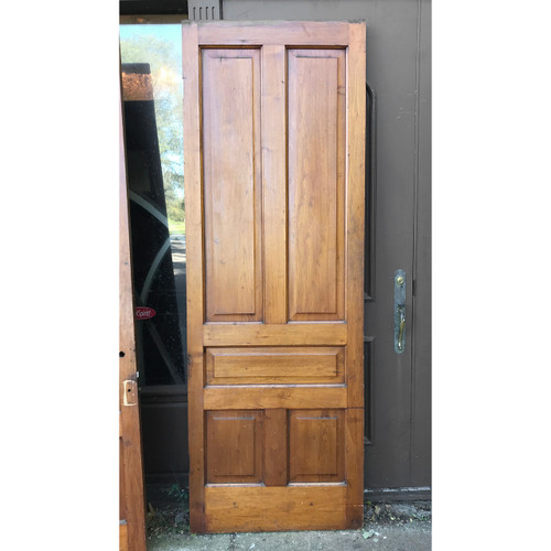 "D18171 - ANTIQUE INTERIOR TRADITIONAL Five PANEL DOOR 32-3/4"" X 93-3/4"""