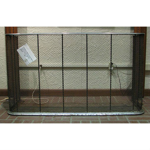 805689 - Antique English Fireplace Screen