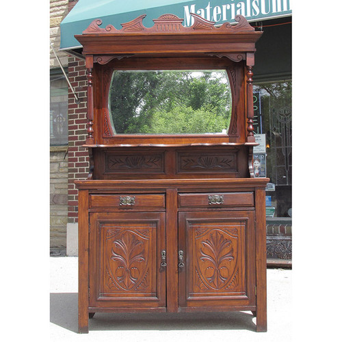F15043 - Antique Victorian Mahogany Sideboard