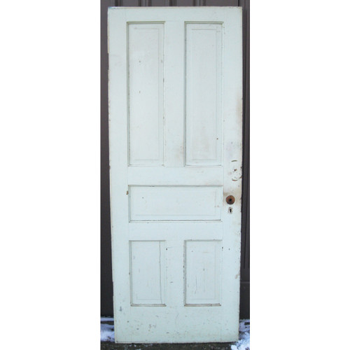 "D17029 - Antique Pine Five Panel Interior Door 29-1/2"" x 77-1/4"""
