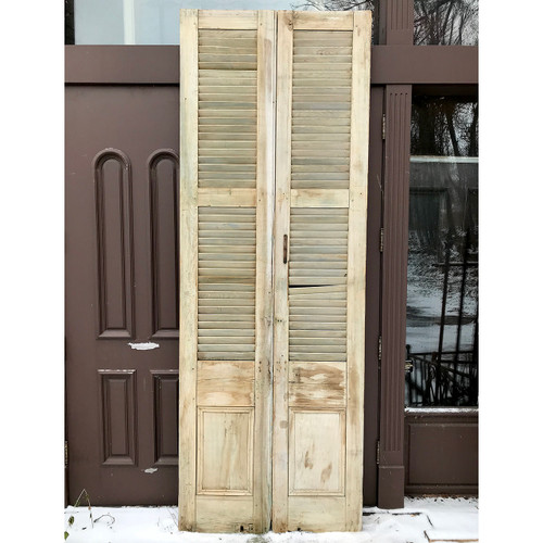 S17048A - Pair of Victorian Exterior Shutters