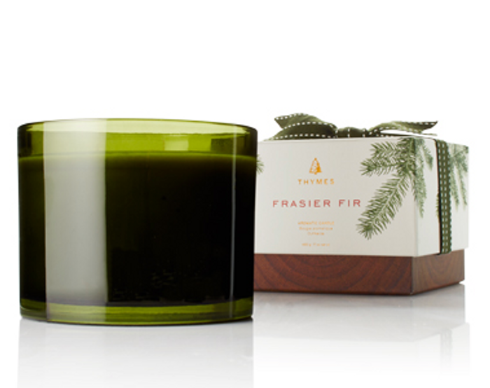 Thymes Frasier Fir 3 Wick Poured Candle