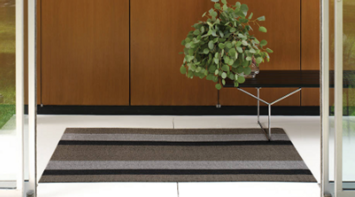 Shag Bold Stripe Indoor/Outdoor Mats