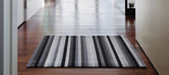 Shag Even Stripe Indoor/Outdoor Mats