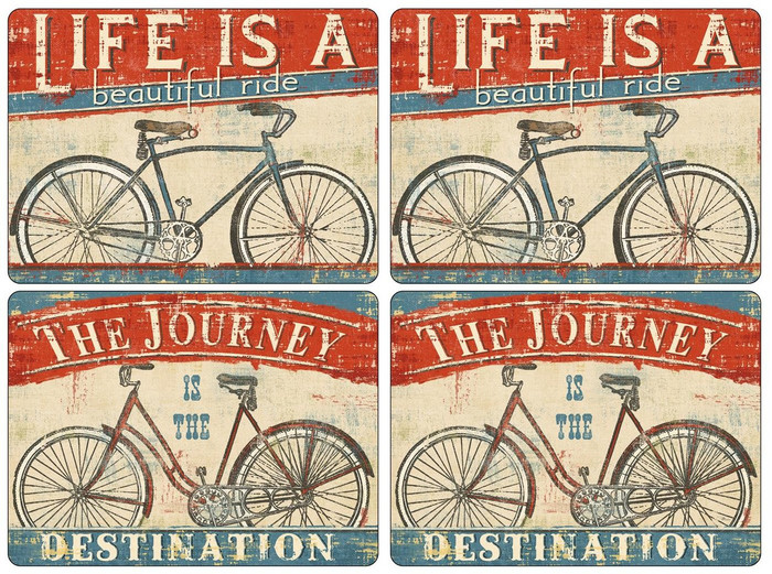 """Beautiful Ride Placemats s/4 16x12"""""""