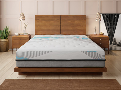 "Blue Wave 14"" Queen Mattress"