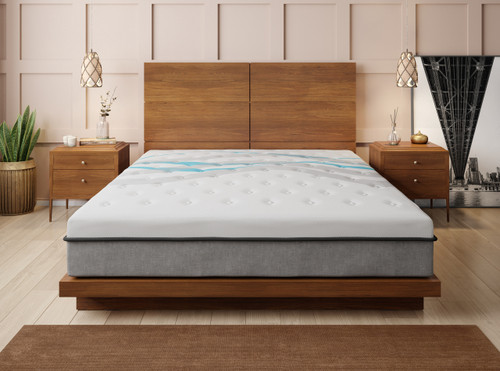 "Blue Wave 12"" Queen Mattress"