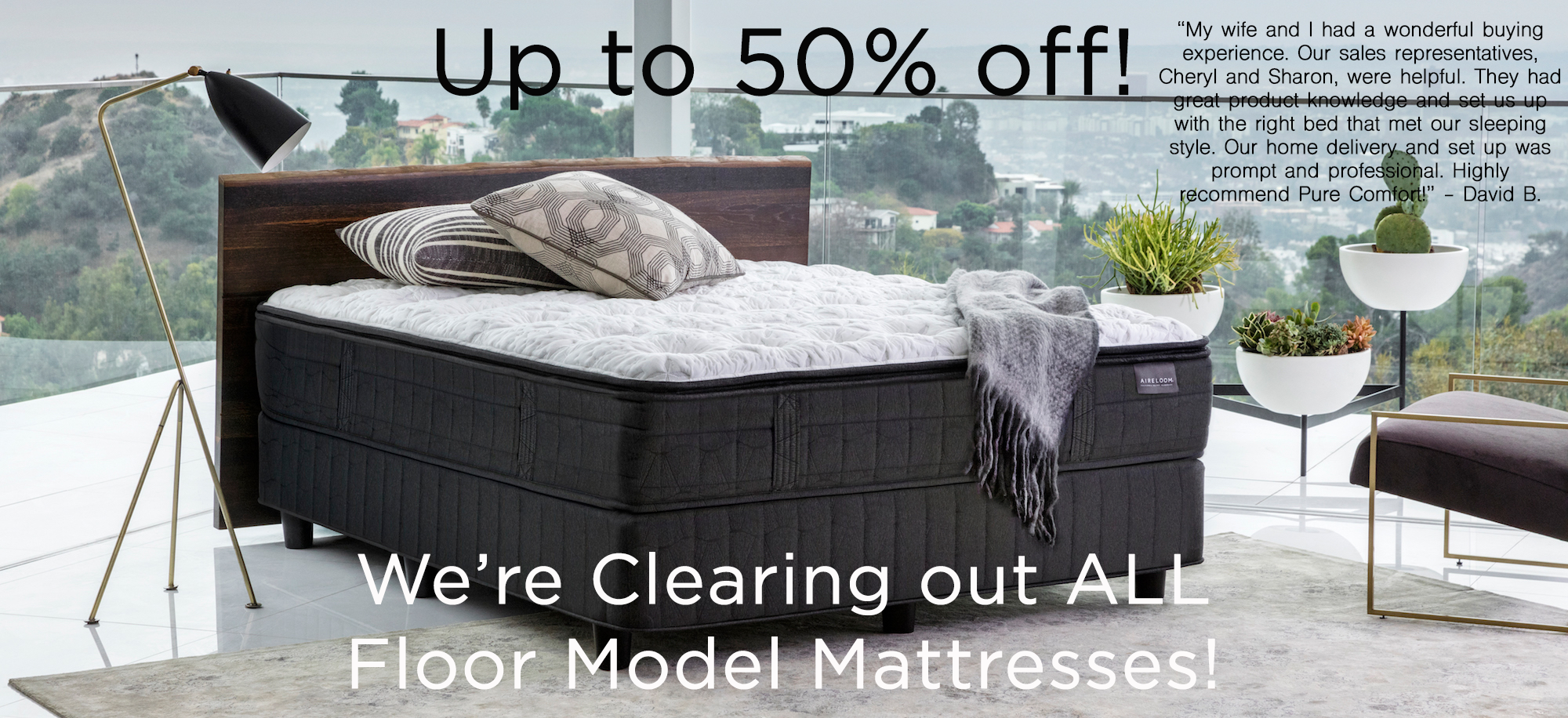 Latex Mattress clearance sale 50% discounts