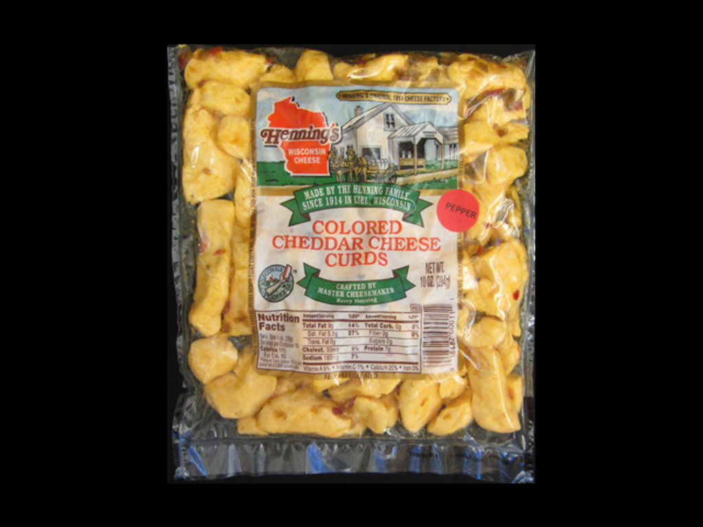 Pepper Cheese Curds