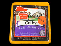 Caraway Colby Cheese