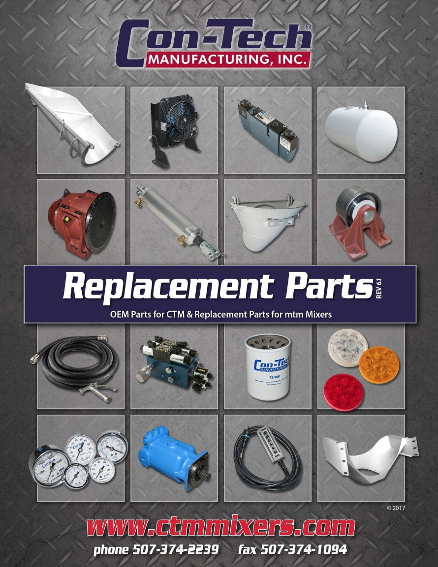 Con-Tech Parts Book