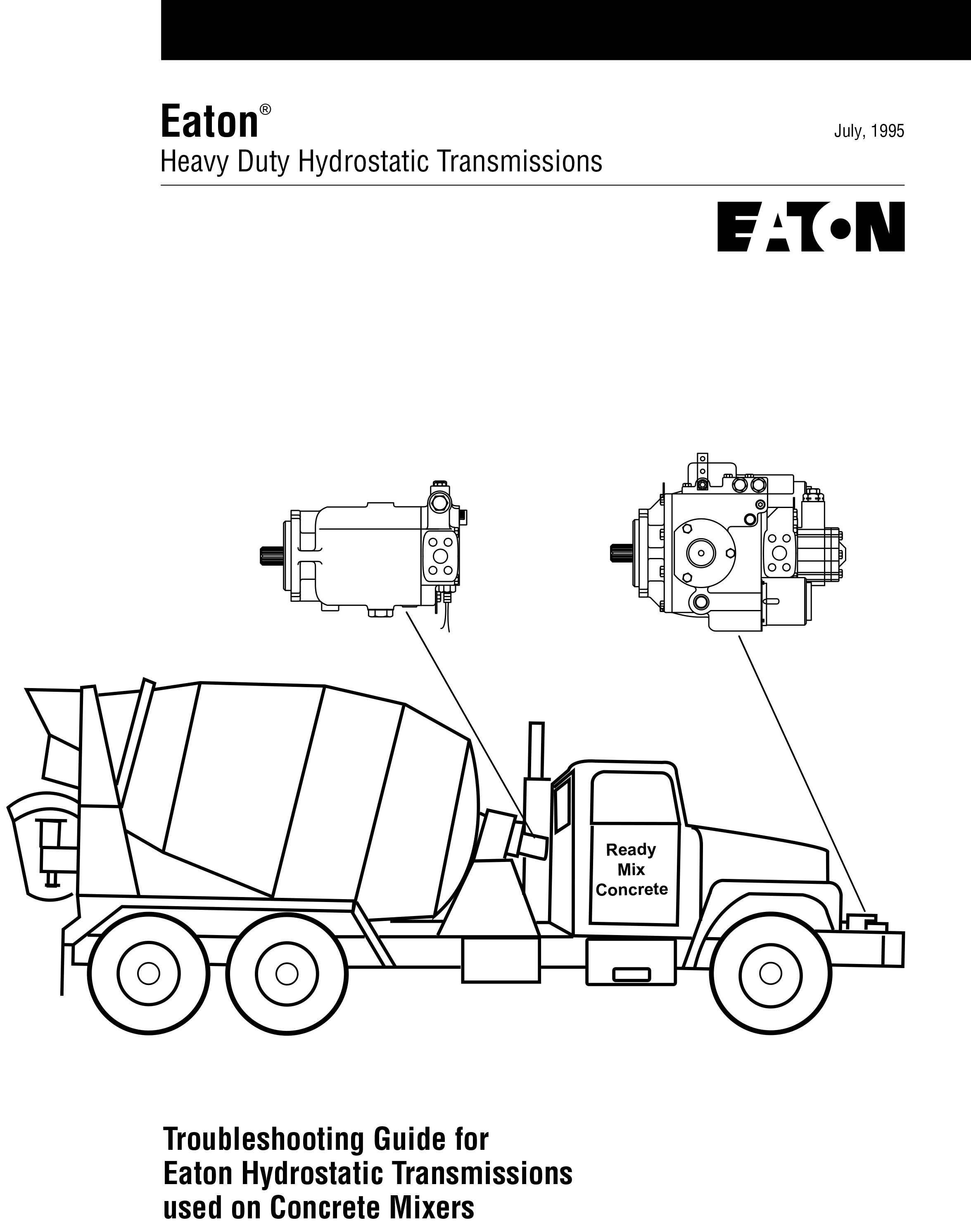 Eaton - Troubleshooting Guide Hydrostatic Transmissions