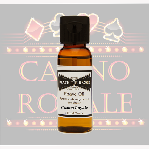 Shave Oil - Casino Royale