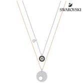 Swarovski Crystal Wishes Evil Eye Pendant Set