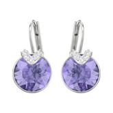 Swarovski Bella V Small Violet Earrings