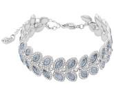 Swarovski Baron Blue Leaf-Shape Crystal Bracelet