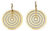 Circle Earrings from Infinity Collection in Rose Gold Plating