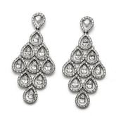 Oliver Weber Diva Crystal Drop Earrings