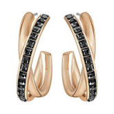 Swarovski Dynamic Hoop Earrings