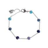 Swarovski Blow Blue Ball Bracelet