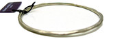 Adami and Martucci Matte Finish Small Bangle, Silver