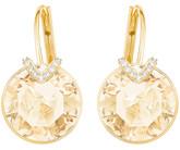 Swarovski Bella V Large Earrings, Yellow Gold
