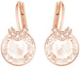 Swarovski Bella V Small Earrings, Soft Pink
