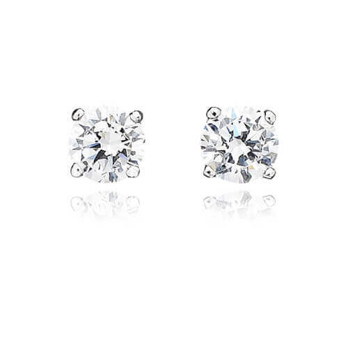 platinum ec earrings large sd x pdp stud p diamant main plated