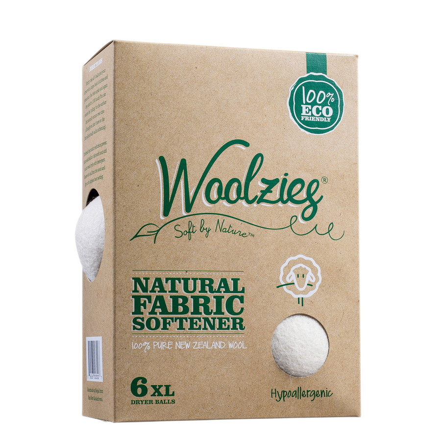 Softens Naturally Reduces Drying Time by 25% Reduces static Helps eliminate wrinkles Chemical free Safe for people with wool sensitivities -