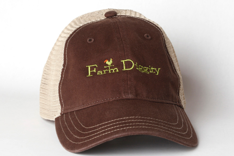 Farm Diggity Hat /Brown/Khaki