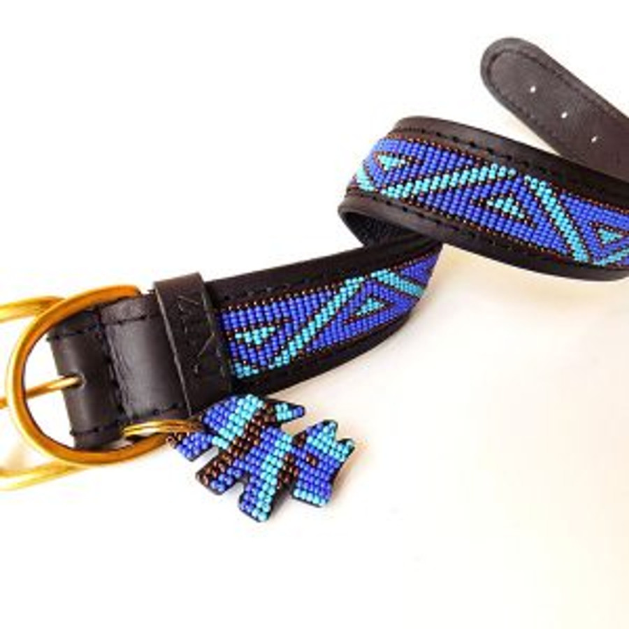 Kabaka  Blue Dog Collar