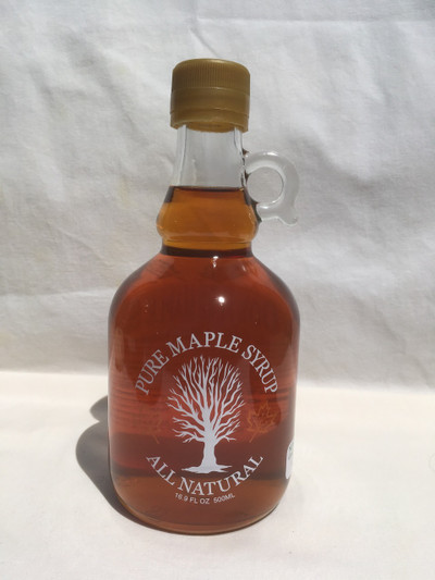 Maple Syrup 500 Ml glass jug