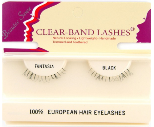5c64af1919e Hermosa Beauty - Beautee Sense Clear-Band Lashes - Temptress Brown